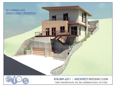 Single Family Dwelling on a Hillside
