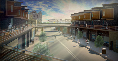 The Promenade - Redevelopment of Francisvilles Arts District