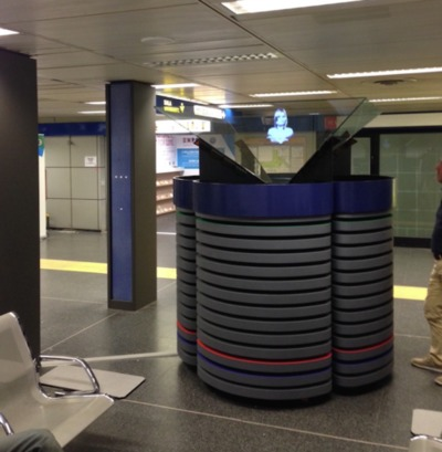 HoloTower 2 Milan Linate Airport Expo 2015