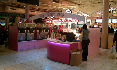 The Yogurt Shop Kiosk