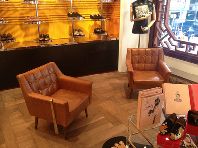 Nordic Furniture for Christian Louboutin, Wyndham