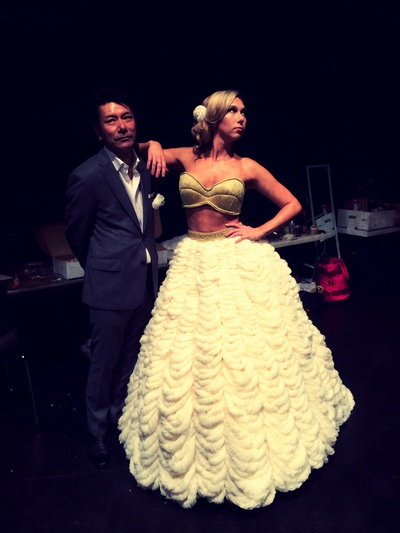 Cosmo Couture Design Competition- 2014 Best Overall Award