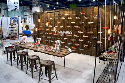 Joy&Mario Trade Show Booth