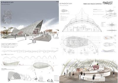 Madrid 2020 pavillion competition FINALIST