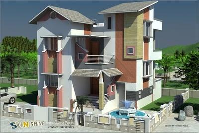 3d home for Mr. Premchand Tayade