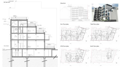 Housing Building - rue des Chartreux