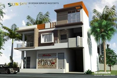 3d Home for Mr. Atul Lanjudkar Nandura