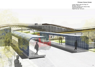 Chinese Culture Center Design