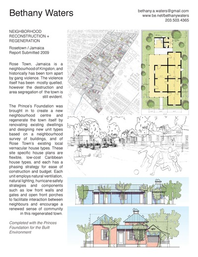 Neighborhood Reconstruction + Regeneration
