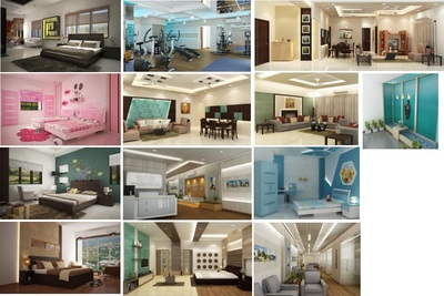Managed Over 1500 residential and commercial interior design projects PAN India