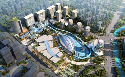 Shanghai Jiu Ting Mix Use Planning