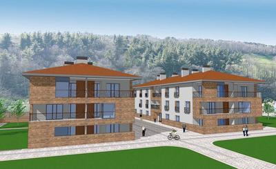 Social housing complex (24 apartments), facilities and Urbanization