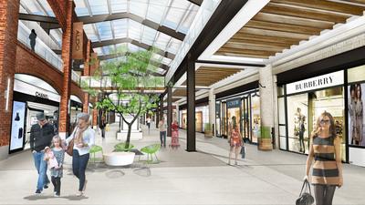 RTKL Project   Liberty Towne Square Shopping Mall, Ohio