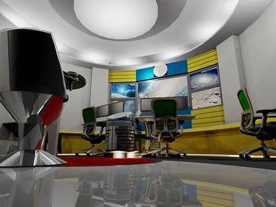 Astor Center Control Room