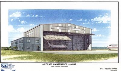 Gary-Chicago Airport Hangar (Boeing)