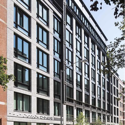 Gold Winner—Category: Residential - Multi-Family; The Jefferson in New York designed by BKSK Architects