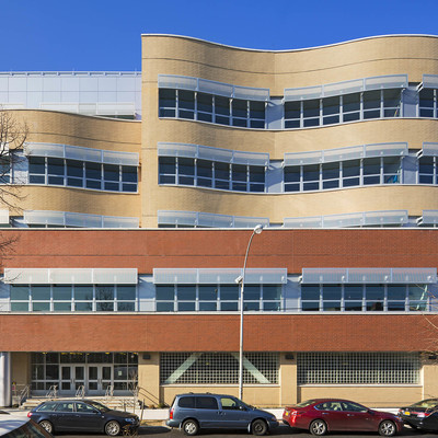 Gold Winner—Category: Educational K-12; Addition to P.S. 70Q in Astoria, New York designed by RKTB Architects, P.C.