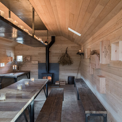 Special Category Award—Best Use of Timber: Culardoch Shieling in Aberdeenshire by Moxon Architects