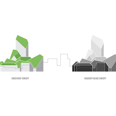 Buildings concept. Image © MVRDV.