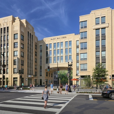 Gold Winner—Category: Residential - Multi-Family; Park Van Ness in Washington, D.C. designed by Torti Gallas + Partners