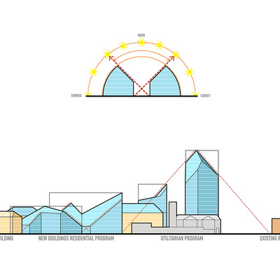 Cuts concept. Image © MVRDV.