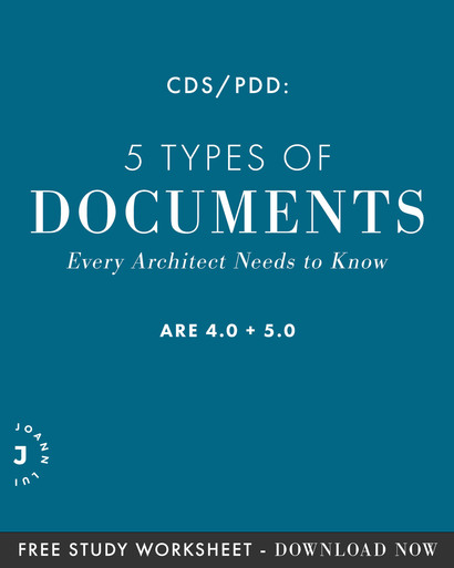 Were diving into every type of documents you'd need to know for the ARE 4.0 CDS/ARE 5.0 PDD exams. You can even download the CDS/PDD – Know Your Documents study guide at the end of the post before your exam!