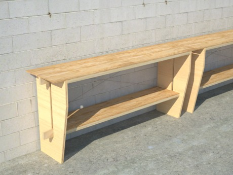 plywood workbench