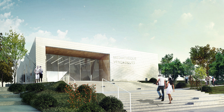 Library, Vendargues, 2014
