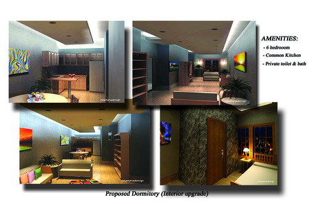 Proposed 6 bedroom Dormitory (interior upgrade)