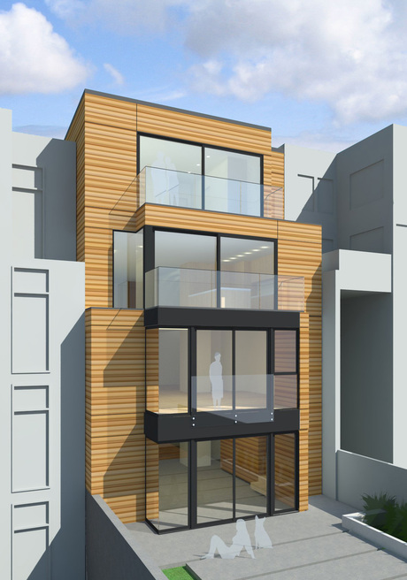 Equilibrium house on 19th Street...well done, HTA!