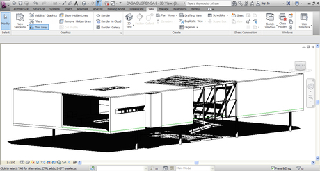 designing a house in Revit