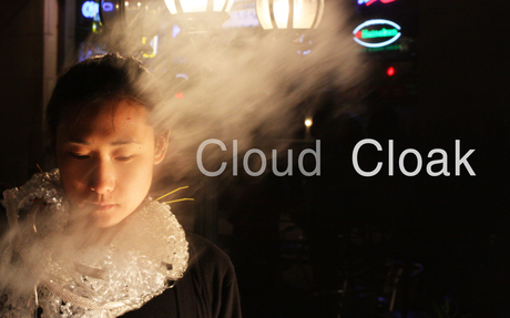 Cloud Cloak: wearable machine