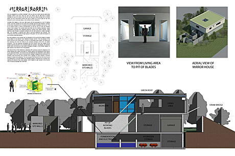 Design for the 2011 Zombie Safe House Competition is complete and submitted.