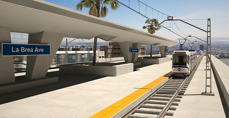Inglewood Light Rail Station