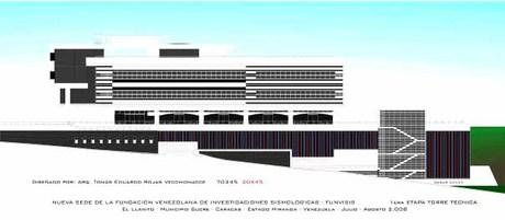 Funvisis project design for Ferrero Tamayo Arquitectos, c.a.