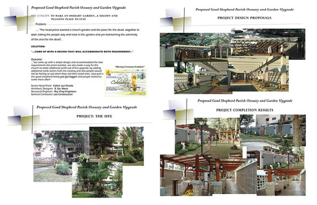 My project for the Year 2012..An Ossuary and Landscape Upgrade for our Parish Church