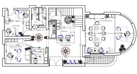Design Modification-Redesign of Villa to be an Office center and lecture Halls