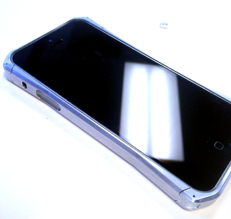 CNC'd aluminum Iphone case prototype...