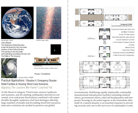 world wide Modular Habitat (wwMH): mobile modular medical clinic