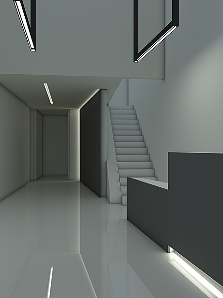 Lobby design render