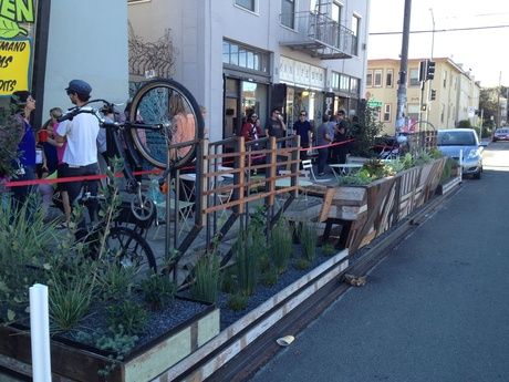 Oakland Parklet minipark