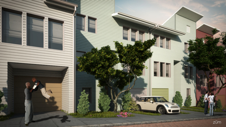 Sneak Peek: Habitat for Humanity of Greater San Francisco 3D Rendering project