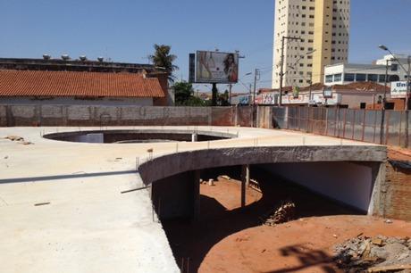 Stadium Square - multipurpose space, work in progress