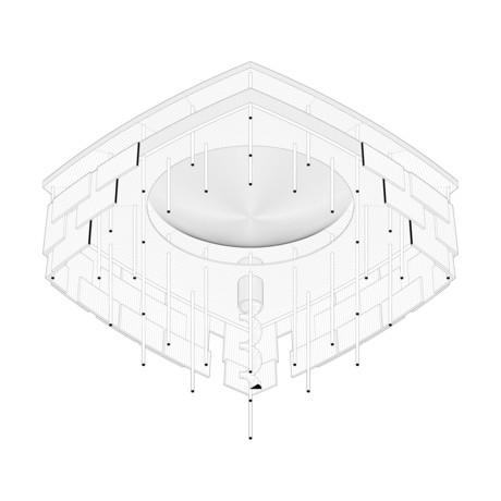 Naïve Intention : Suspended Ceiling, Pezo von Ellrichshausen, IIT. Spring 2015.