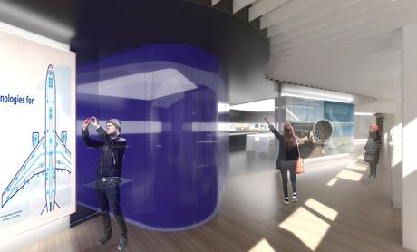 GE Aviation Co-Creation Lab_ corridor
