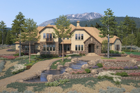Start of construction to begin after Reno-Tahoe Golf Tournament for 5,500 SF European style residence.