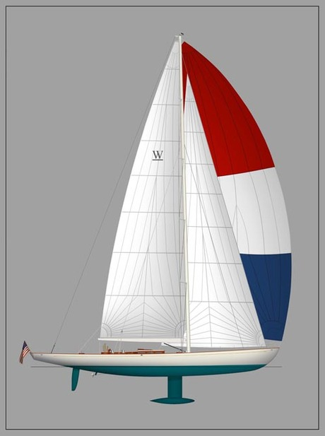 Renderings and Marketing Graphic's for Bruce Johnson/Rockport Marine/W-Yachts