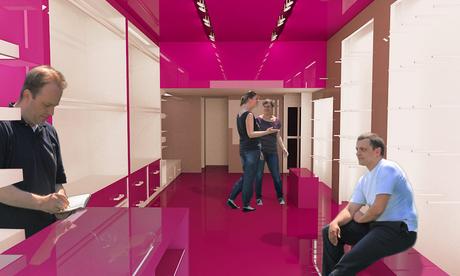 Interior design lingerie shop