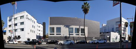 Facade of Siren Studios - 95% complete