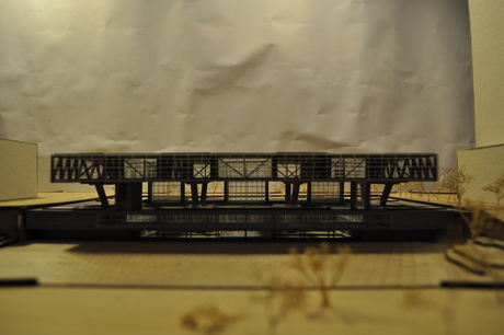 One more image of th UN Environmental Council model for the Archiprix.NL. More info at http://georgesiokas.weebly.com/tu-delftsadd.html